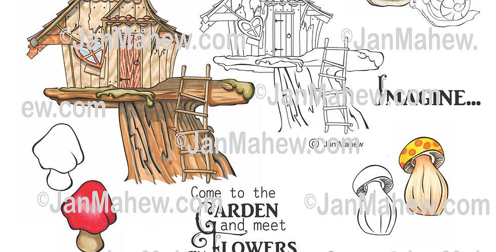 Lil Garden Cottage