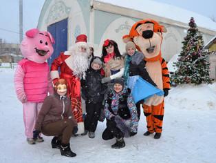 В Уфе фонд «Молодость нации» подарил детям-инвалидам Новогодний праздник