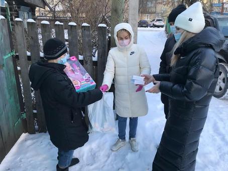 Рима Баталова посетила несколько семей в Уфе
