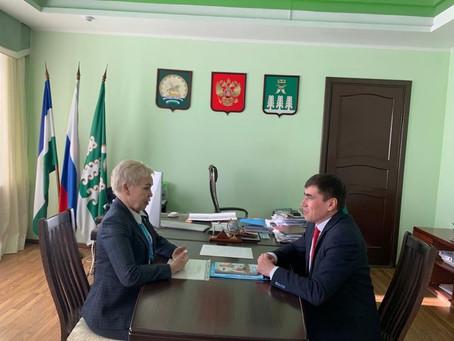 Рима Баталова посетила с рабочим визитом Шаранский район