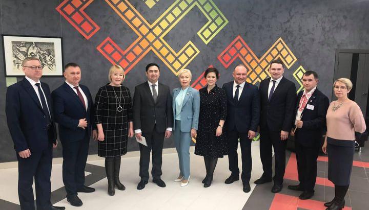 Открытие Марийской историко-культурного центра