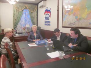 Рима Баталова провела в Уфе прием граждан