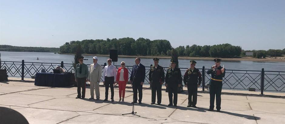 Акция памяти, посвященная 80-летию начала Великой Отечественной Войны
