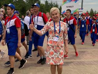 В этно-парке «Ватан» прошла красочная церемония закрытия 53 Летних Международных детских игр