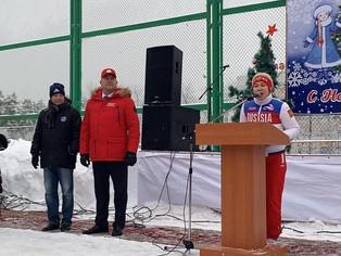 400 уфимцев приняли участие в массовом катании на коньках