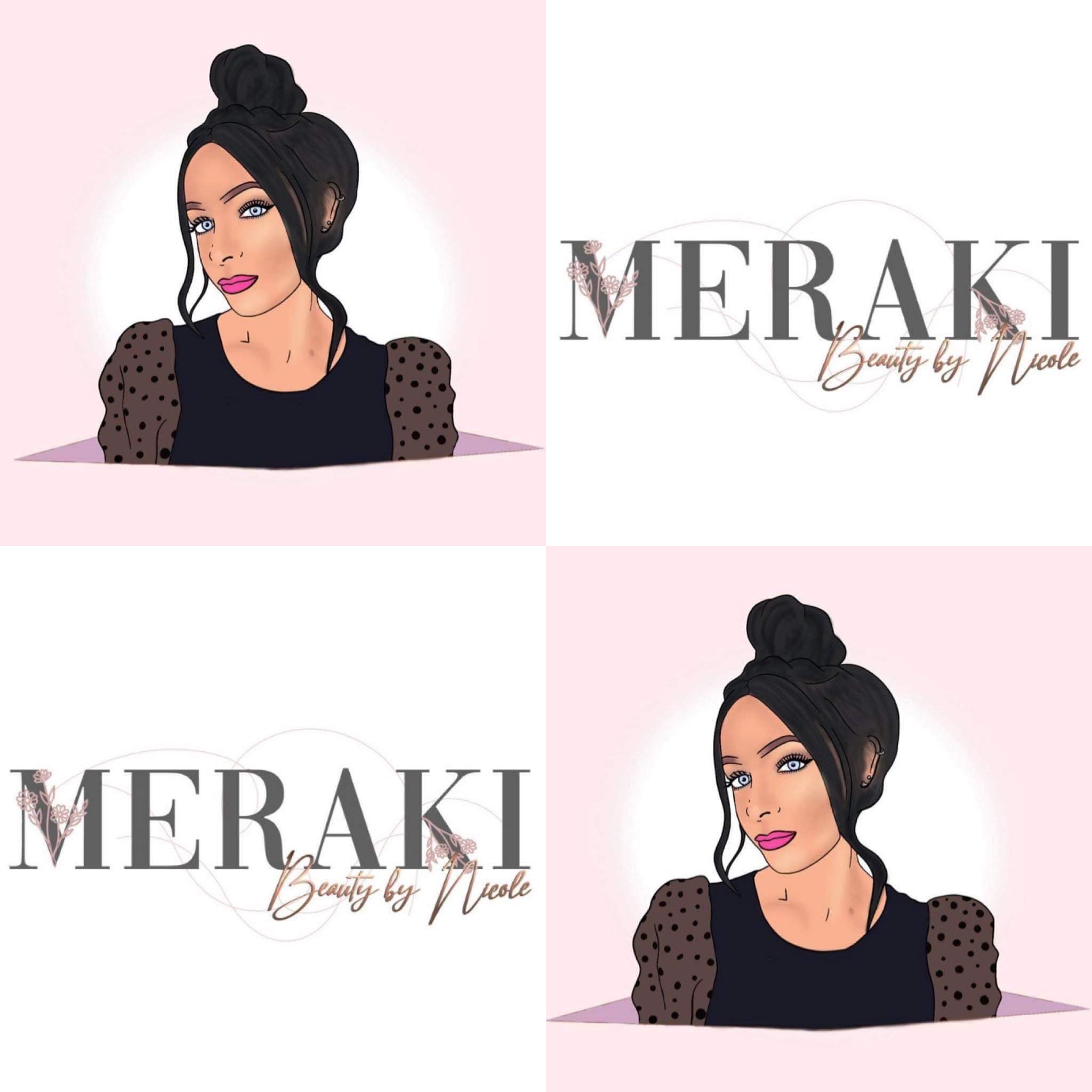 digital portrait meraki