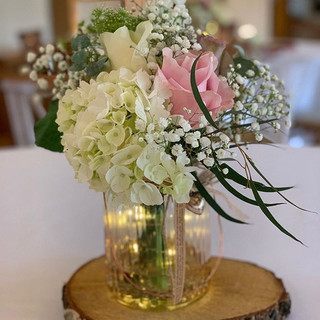 Beautiful flowers today for Charlotte at