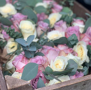 A crate of floral beauty to make everyon