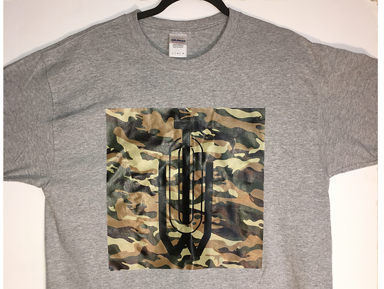 Out This World Ent. Camo & Grey Tee