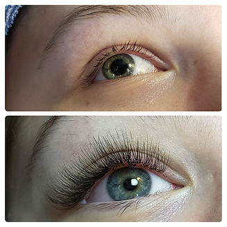 Lash Extnsions by Hair in Motion