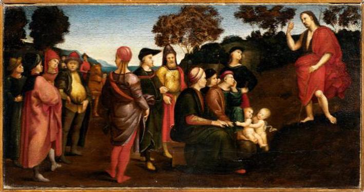 Raffaello Sanzia, Preaching of Saint Joh