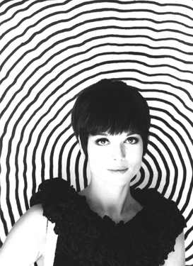 Elsa Martinelli, on the set of The 10th Victim by Elio Petri, 1965