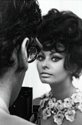 Sophia Loren and Richard Avedon Rome, 1966