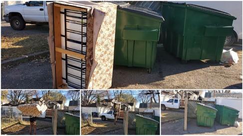 Dumpster Bin Storage Area Junk Removal