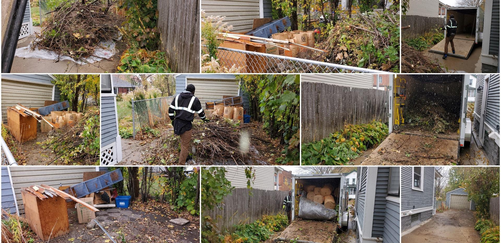 Yard Waste Junk Removal
