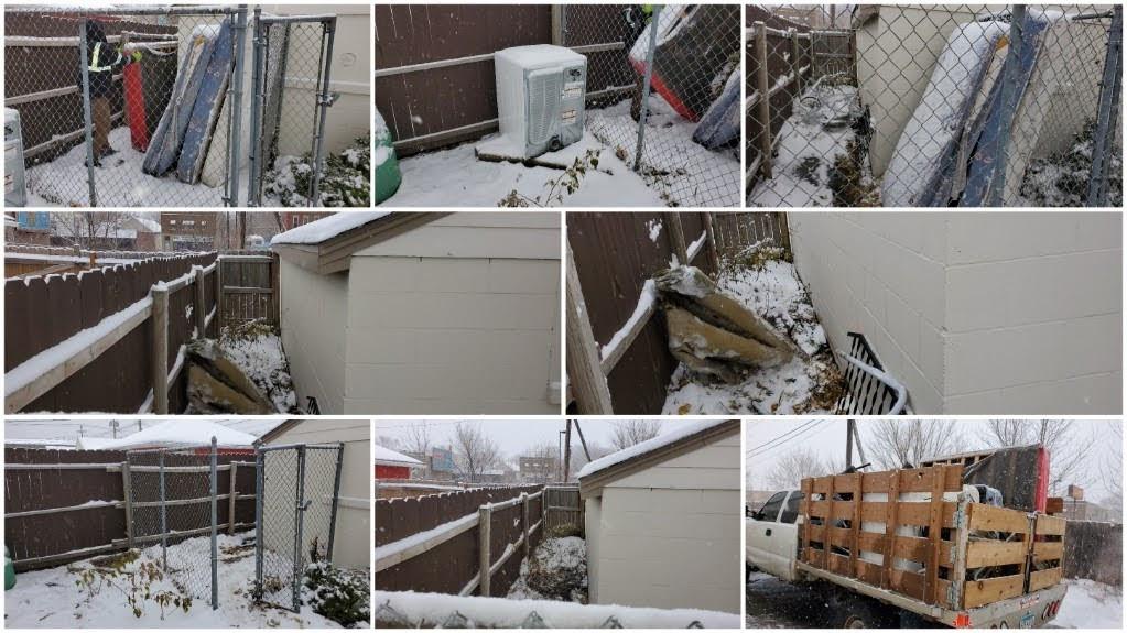 Backyard Trash Removal
