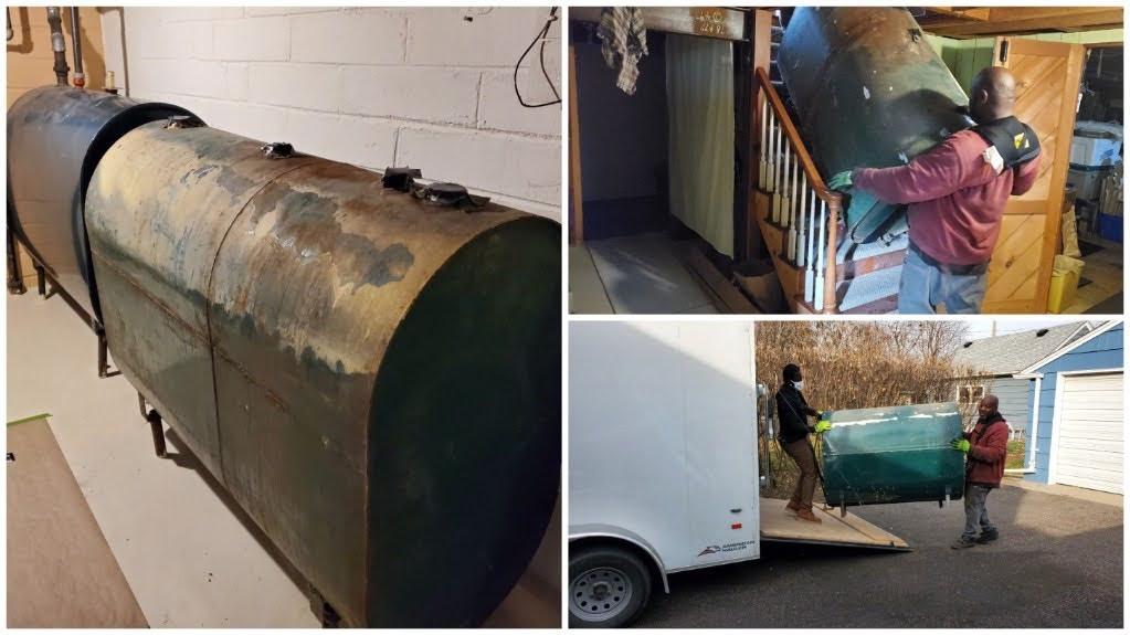 Fuel Tank Junk Removal