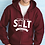 Thumbnail: SALT Outreach Zippered Unisex Hooded Sweatshirt