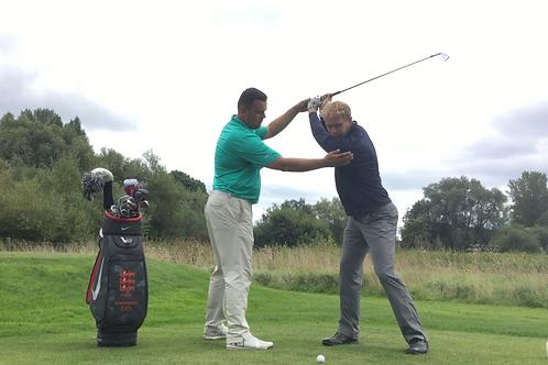 40 Minute Golf Lesson