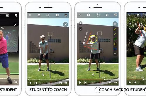 1 Months Online Golf Lesson