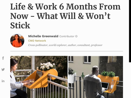"""Life & Work 6 Months From Now - What Will & Won't Stick"""