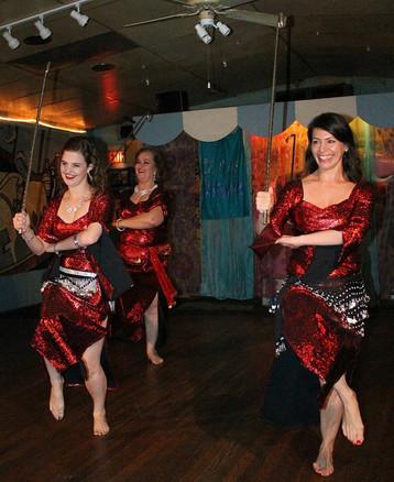 Raqs al Sarab - cane choreography