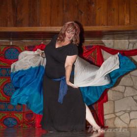 Najla at dance camp