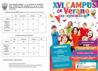 XVI CAMPUS DE VERANO