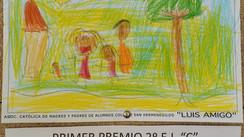 """1º Premio """"IX Concurso Pintura y Dibujo Colegio San Hermenegildo"""""""