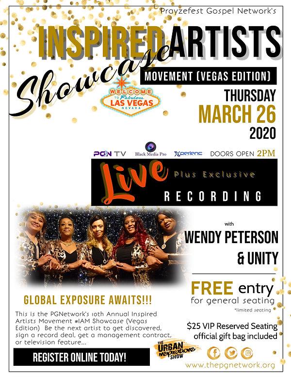 2020 Inspired Artists Movement Showcase