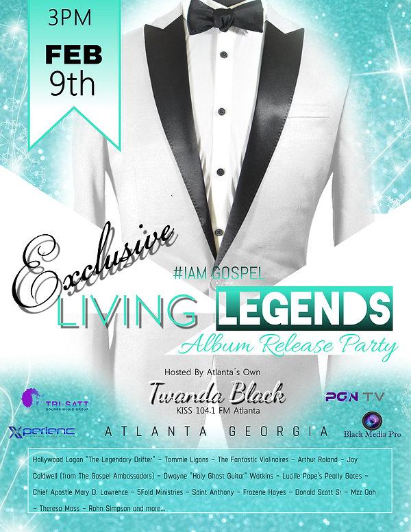 Living Legends Vol 3 Atlanta Release Par