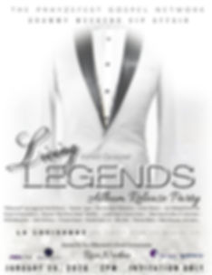 ANNOUNCEMENT #IAM Gospel Legends VIP Rel
