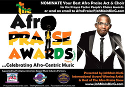 Afro Praise Categories