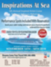 Inspirations At Sea Cruise 5 (deposit du