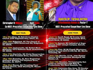 Prayze Factor's National Independent Artists Tour