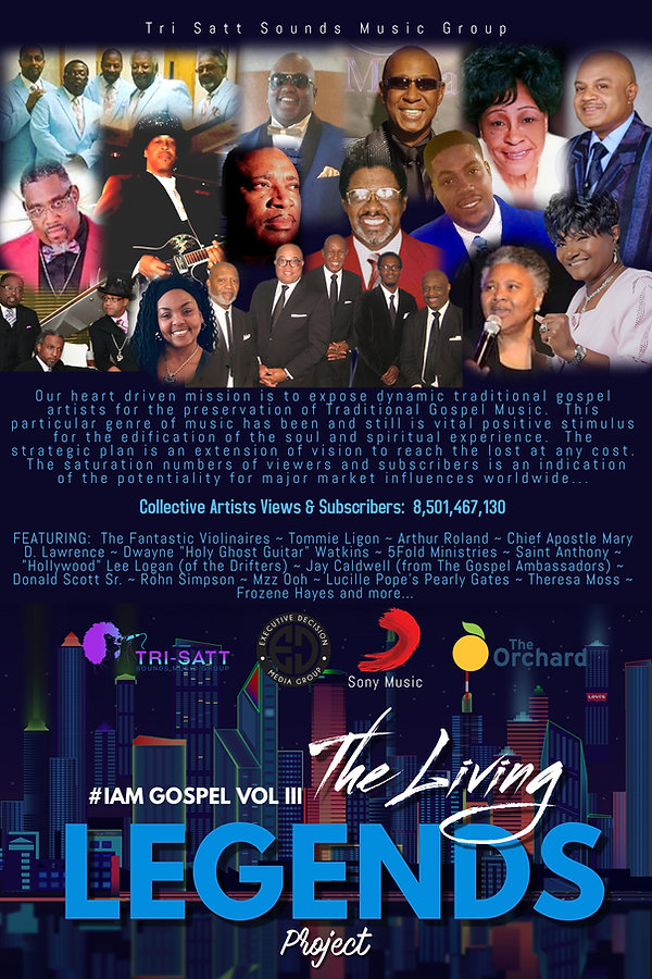 IAM Gospel Vol 3 The Living Legends Proj