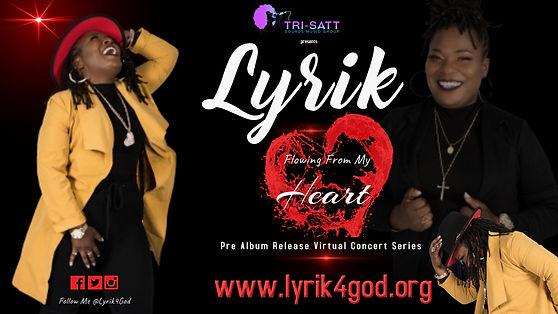 Lyrik pre release virtual concert series