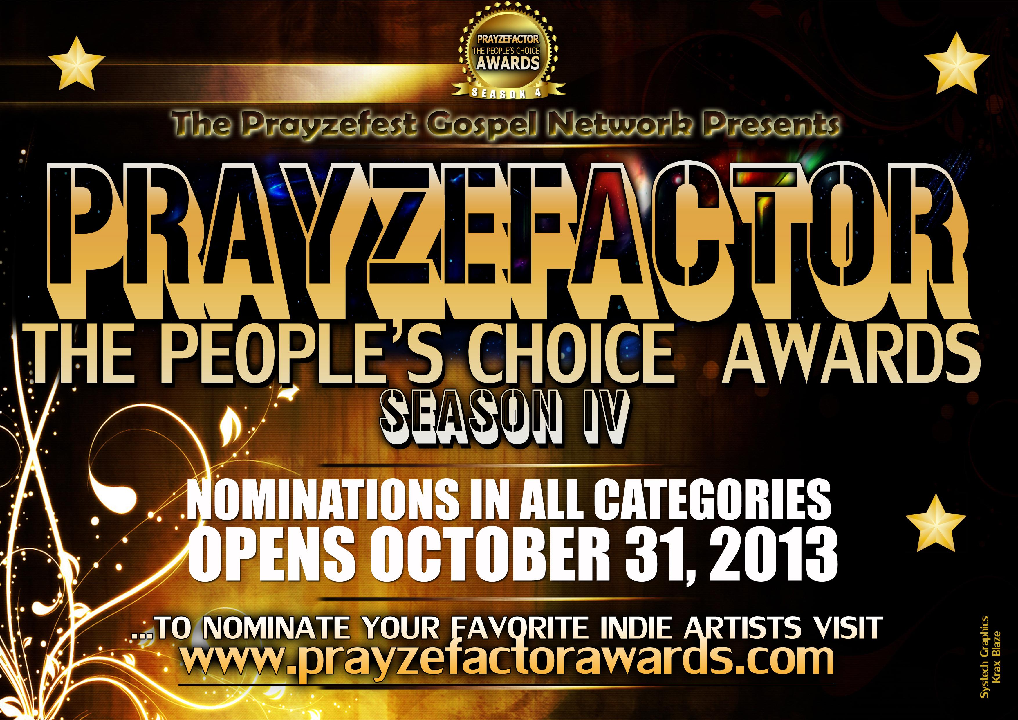 Season 4 Nominations Now Open