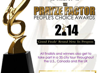 Season 5 of The Prayze Factor People's Choice Awards ... voting now in progress