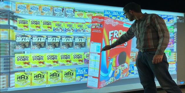 3D Interactive Virtual Aisle
