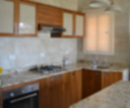 Kitchen upper cabinets
