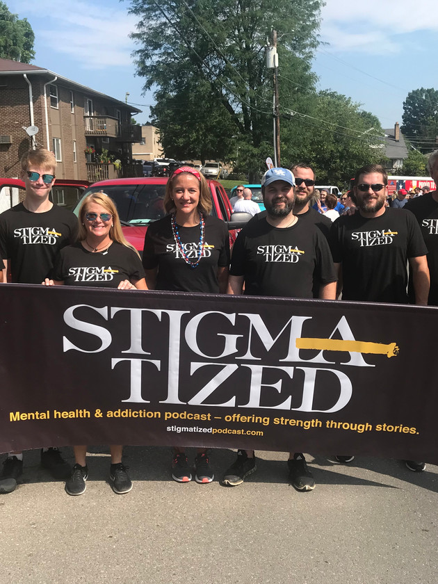 A special thank you to family and friends who walked in the parade today, not only get the word out about Stigmatized podcast but to celebrate this great nation. Happy 4th!