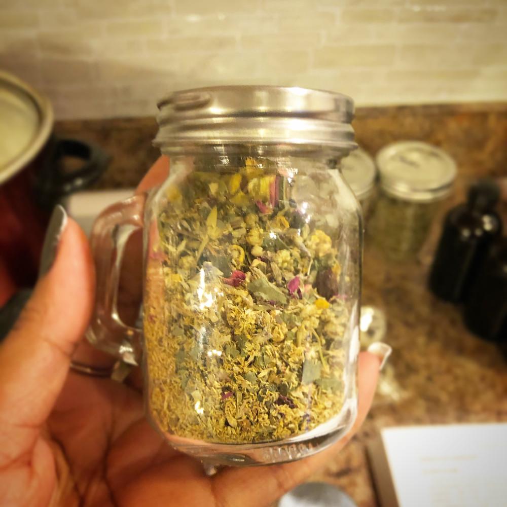 Olive Leaf & Ginger Tea