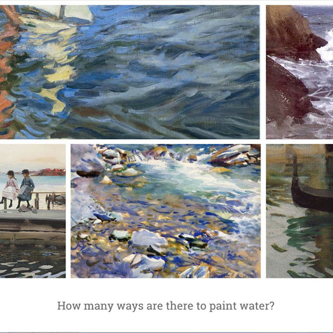 How to paint water, Part 2