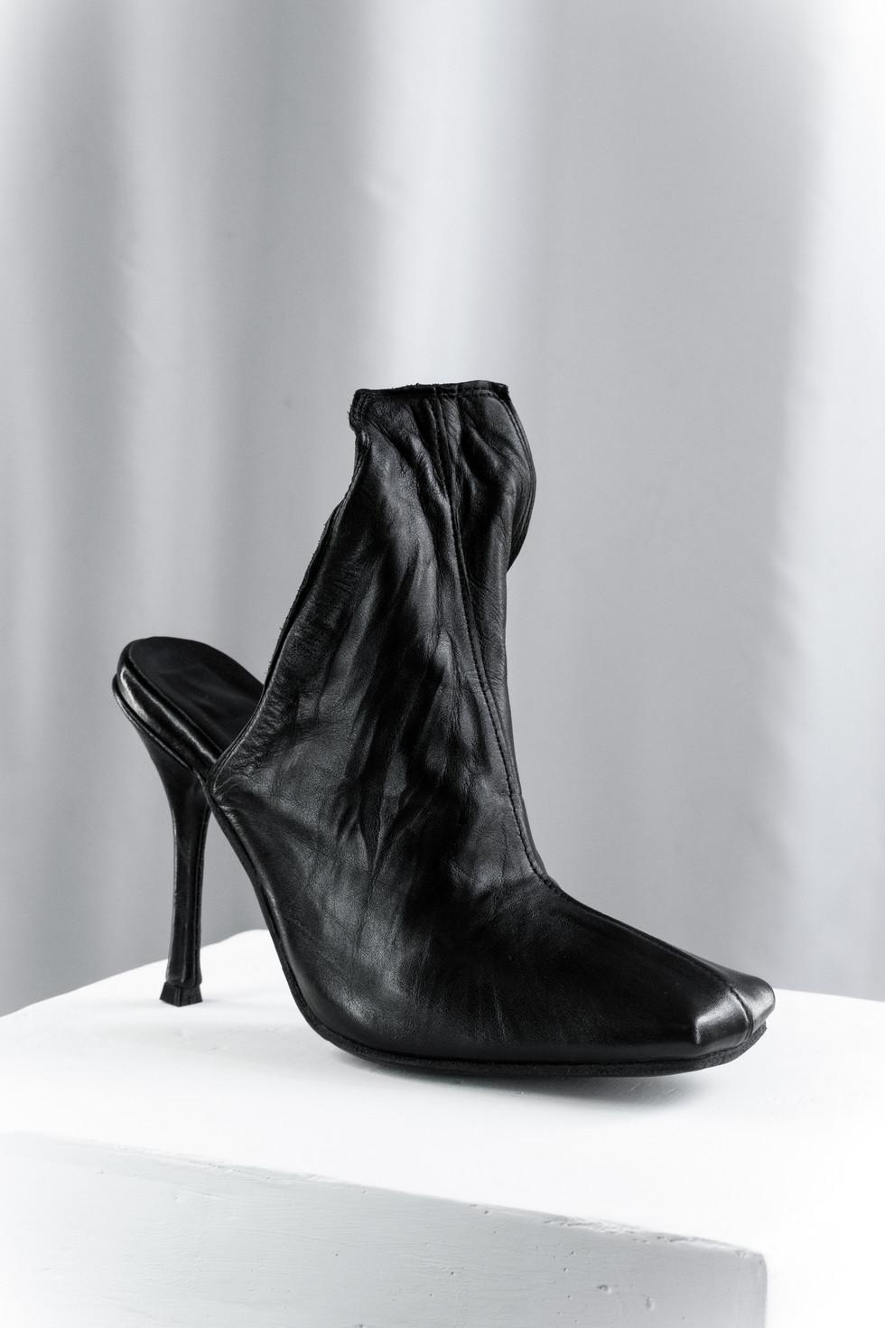 Stiletto heel Mules