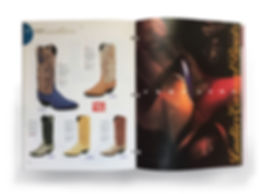 Tony Lama footwear catalogue