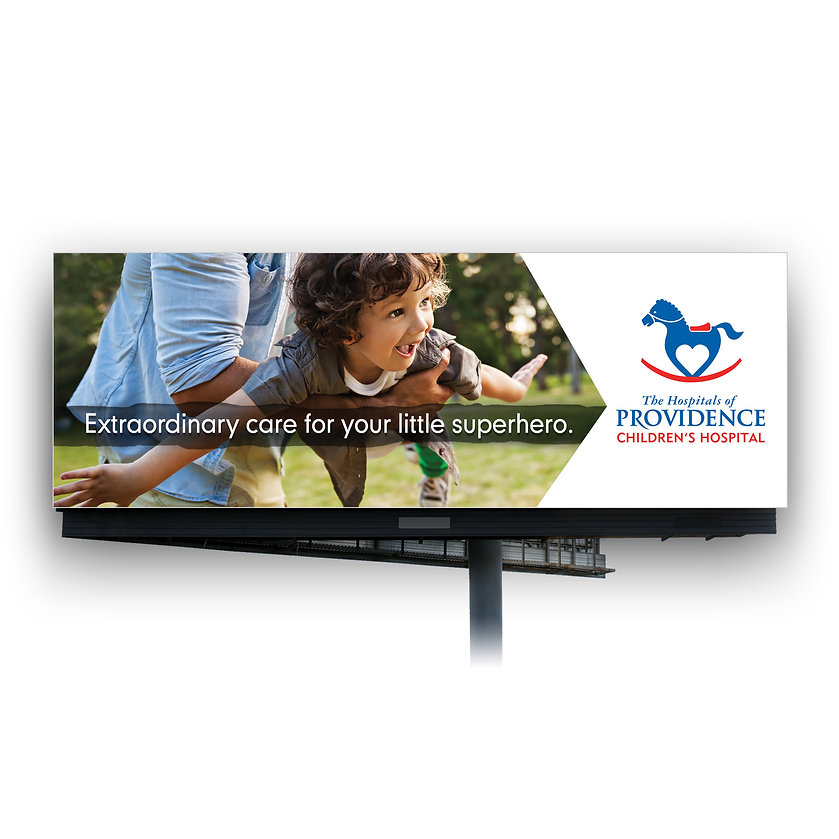 Hospitals of Providence Children's Hospital billboard