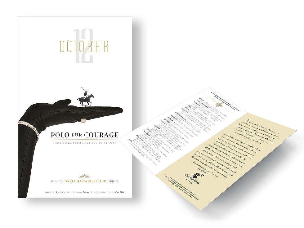 El Paso Polo for Courage Brochure