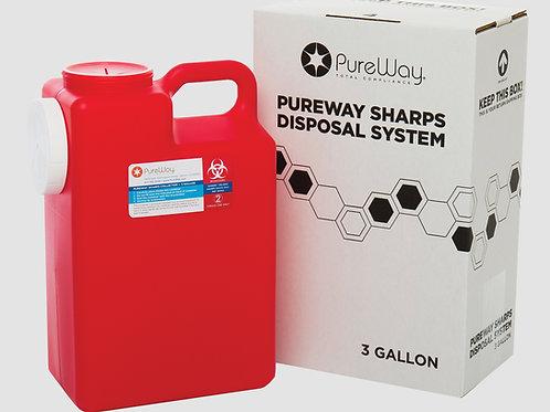 3 GALLON SHARPS DISPOSAL SYSTEM