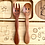 Thumbnail: Wooden Fork and Spoon for Kids